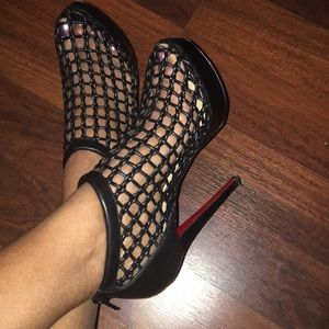 09e7fc039462 Christian Louboutin Shoes - Christian Louboutin Coussin Caged Bootie